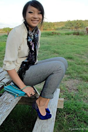 necessary clothing shoes - modcloth bag - lulus pants