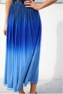 Ombre-dip-dye-motel-skirt