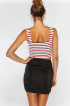 Stripe Motel Rocks Tops