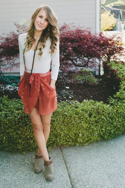 August Wrinkle skirt