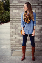 chambray Rubbish top