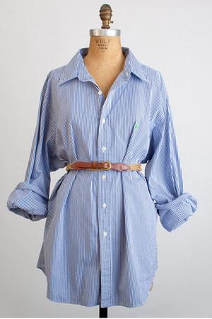 navy Vintage Ralph Lauren shirt