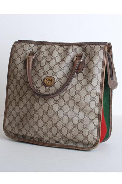brown Vintage Gucci bag