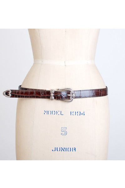brown vintage Brighton belt
