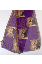 Purple Vintage Scarves