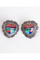 Silver-vintage-earrings