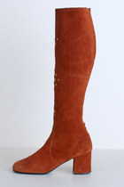 Burnt-orange-vintage-boots