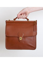 Brown-vintage-coach-bag