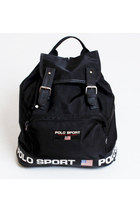 Vintage 90s Polo Sport Ralph Lauren Flag Backpack