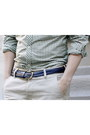 Navy-cord-topman-belt-dark-brown-dress-vintage-shoes-green-ben-sherman-shirt