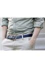 Navy-cord-topman-belt-dark-brown-dress-vintage-shoes-green-ben-sherman-shirt