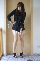 blazer - shoes - dress