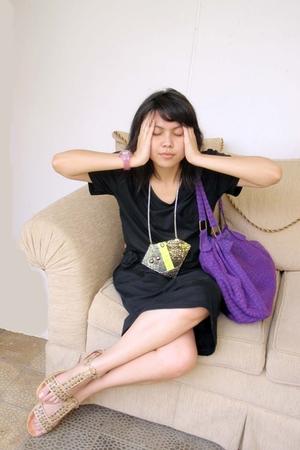 NIKICIO dress - kalyan purse - LA district shoes - Mayhem by Muntik accessories
