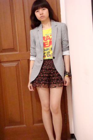 Zara blazer - Zara top - Body&Soul skirt