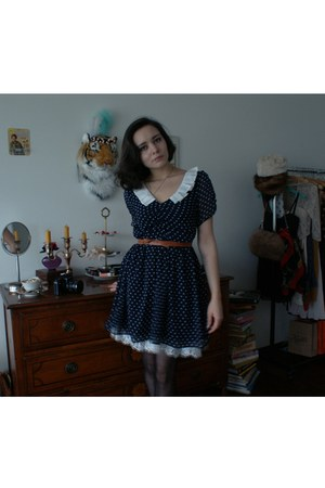 polka dot miss patina dress