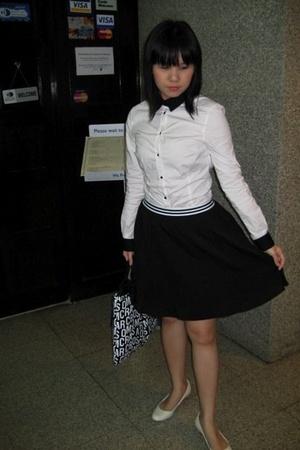 shirt - skirt - shoes - purse
