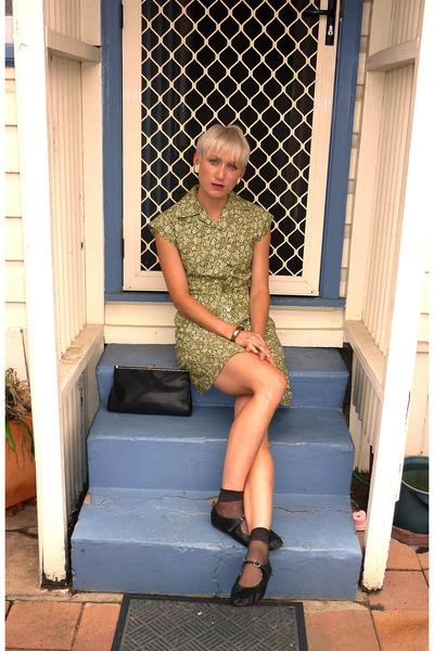 Toddler Boys Black Dress Shoes on Black Baby Doll Vintage Shoes Olive