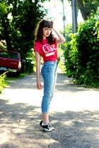 capri Topshop jeans