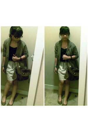 brown bag - brown NyLa shoes