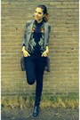 Nelly-boots-heather-gray-h-m-trend-coat-black-h-m-jeans-zara-blouse