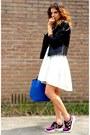 H-m-dress-gio-goi-jacket-zara-bag-nike-sneakers