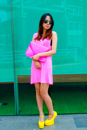 Zeal Footwear shoes - Zara dress - Bershka bag
