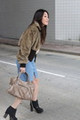 Express-jacket-see-by-chloe-blouse-balenciaga-purse-ras-shoes-cotton-on-