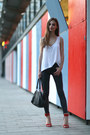 Dark-grey-primark-jeans-selleria-fendi-bag-red-zara-sandals