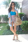Blue-zara-blouse-blue-hong-kong-shorts-blue-h-m-top-beige-h-m-shoes-beig