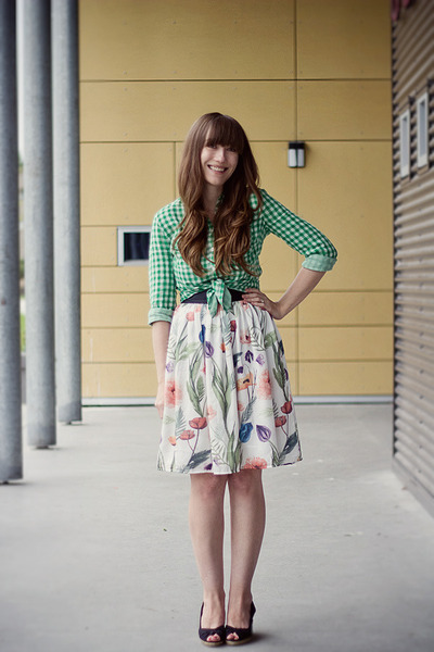H&M skirt - H&M blouse