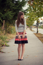 H&M skirt - Club Monaco top - Aldo heels