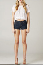 EYELET WHITE BLOUSE
