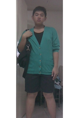blazer - walker top - shorts - purse