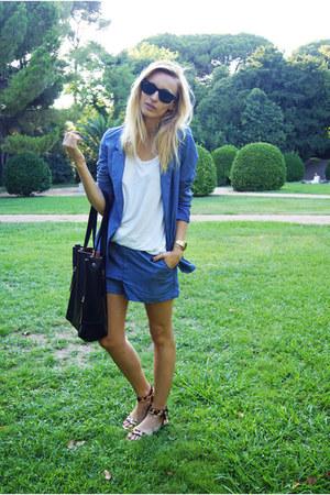 H&M Trend suit - Topshop shirt
