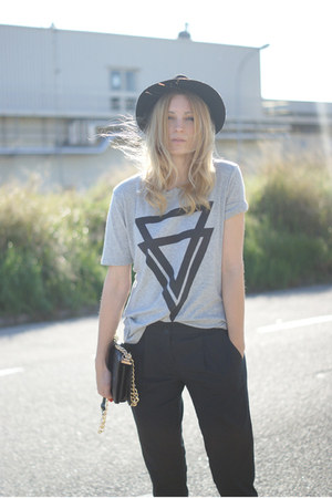 Choies shirt - romwe bag - Topshop pants