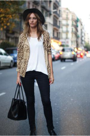 Zara jeans - Zara hat - H&M jacket - nowIStyle bag