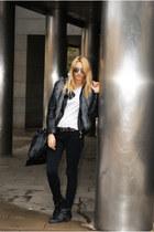 Topshop vest - Topshop boots - Zara jacket - Topshop pants