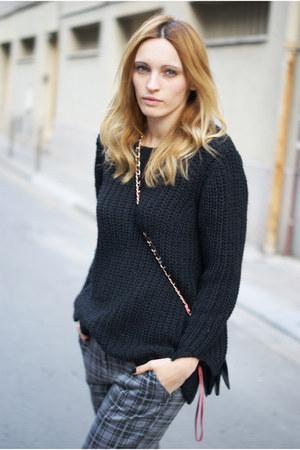 H&M Trend jumper - Topshop panties