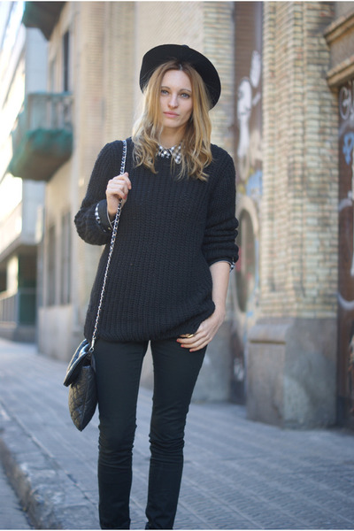 H&M jeans - Topshop bag - H&M jumper