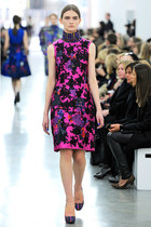 hot pink Erdem dress