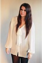 ivory Primark blouse