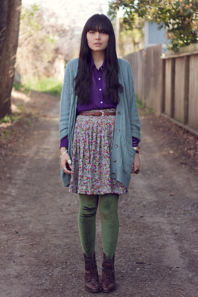 Vintage Skirts Madewell Boots American Apparel Leggings ...
