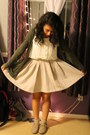 My-moms-cardigan-forever-21-blouse-full-skirt