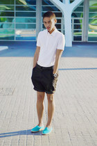 h&m divided shirt - asos shorts - h&m divided belt - Guess watch