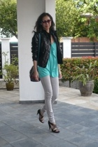graham and spencer blouse - Habitual jeans - banfi zambrelli shoes