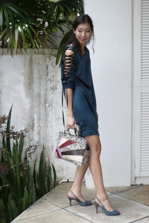cynthia rowley dress - Cole Haan shoes