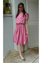 bubble gum vintage dress