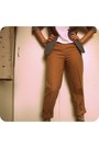 Heather-gray-thrifted-blazer-new-look-socks-camel-united-colors-of-benetton-