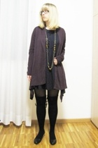 Promod dress - Promod - Mtivi necklace - Calzedonia tights - Calzedonia stocking