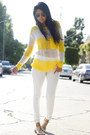 White-zara-jeans-knitted-excess-baggage-jumper-nude-halogen-loafers